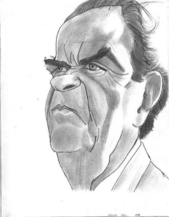 Trouvez le personnage caricaturé C_Marchais